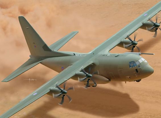 Italeri 1/48 Scale Hercules C-130J C5 Plastic Model Kit