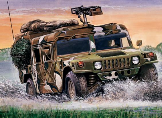 "Italeri 1/35 Масштаб США M998 ""Desert Patrol"" Кит пластиковые модели"
