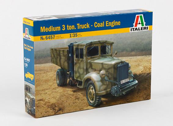 Italeri 1/35 Масштаб Medium 3 тонный грузовик угля двигателя Plastic Model Kit