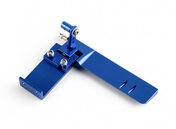 Алюминиевый Marine Rudder Ассамблея HobbyKing ™ (синий)
