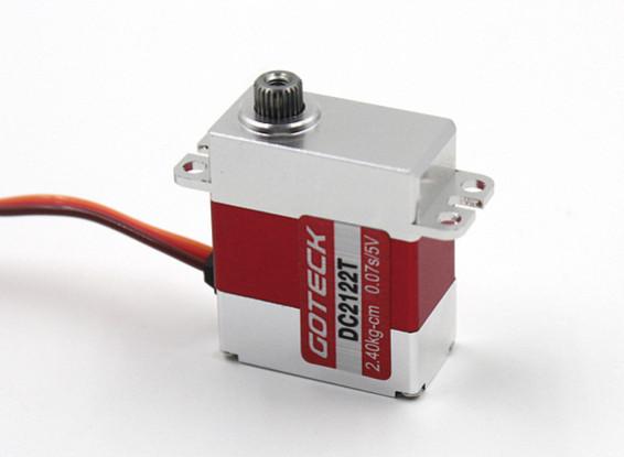 Goteck DC2122T Цифровой MG Metal Обсаженный Mini Servo 20g / 3.0kg / 0.06sec