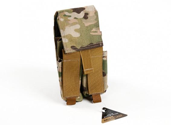 Спецназ Молле двойной стек Mag сумка M4 / Пистолет (MultiCam)