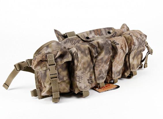 Спецназ Cordura AK Front Грудь сумки (Kryptek Highlander)