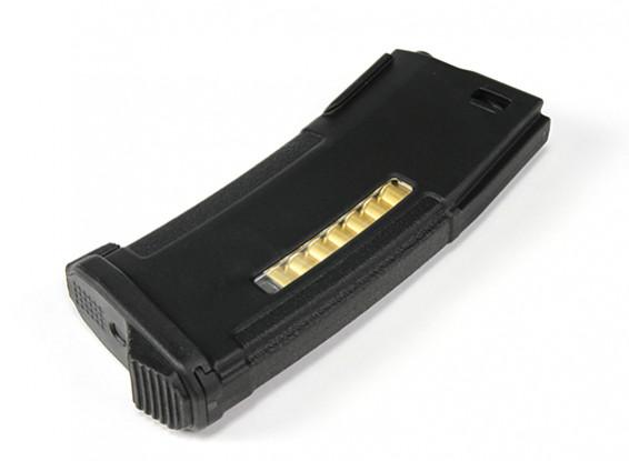 PTS 120rounds Enhanced полимерный журнал для AEG (черный)