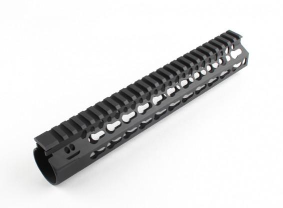 """Dytac Bravo Rail 10 дюймов для профиля Systema PTW (1 1/4 """"/ 18, черный)"""