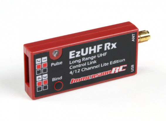 ImmersionRC EzUHF 4 -12 канальный приемник (Lite)