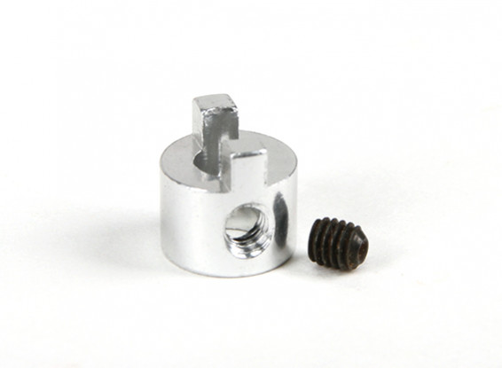 4 мм Вал алюминий Привод Собака с установочным винтом