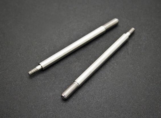 Амортизатор передний вал - раздолбай SaberTooth 1/8 Шкала Truggy Nitro (2 шт)