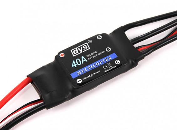 DYS F40A ОРТО ESC С Simonk Программное обеспечение для DYS D800 X8 Мультикоптер
