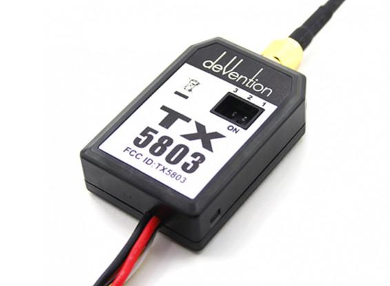 Walkera 5.8GHz TX5803 200mW FPV передатчик видео