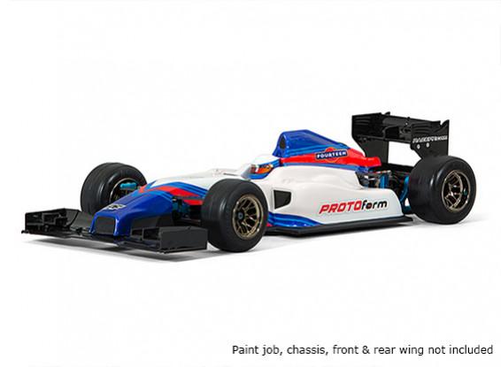 Праформу F1-Четырнадцать Clear Body для Формулы-1 1/10