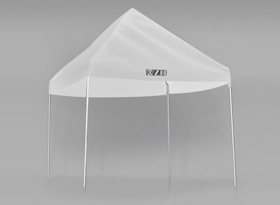 NZO 1/10 Pit Tent - Белый