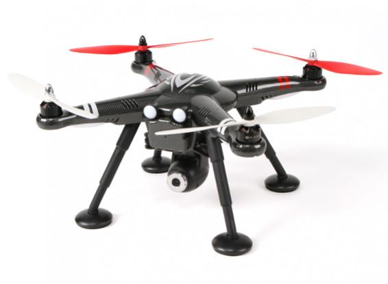 XK Обнаружение X380-A GPS 2,4 ГГц Quad-Copter выбора режима ж / 1080p Cam и оси карданного (RTF) (США Plug)