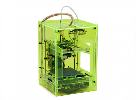 Fabrikator Мини 3D принтер - неоновый зеленый - UK 230V -V1.5