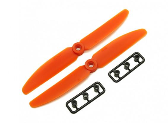 Gemfan 5030 GRP / нейлон пропеллеры CW / CCW Set (оранжевый) 5 х 3