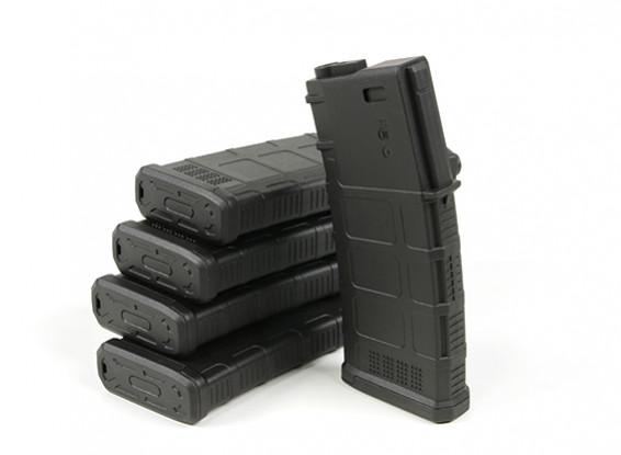 BP EXP 140 раундов Mid-Капа журнал для M4 / M16 AEG (черный, 5 шт коробка)