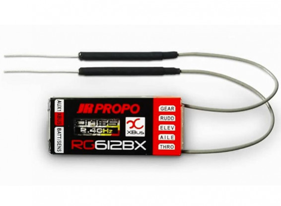 JR RG612BX 6-канальный приемник XBUS