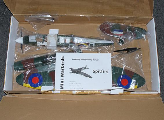 СКРЕСТ / СТОМАТОЛОГИЯ Spitfire Funfighter - EPO 665mm (P & P) вкл. High-Spec (3s ~ 4s) ESC