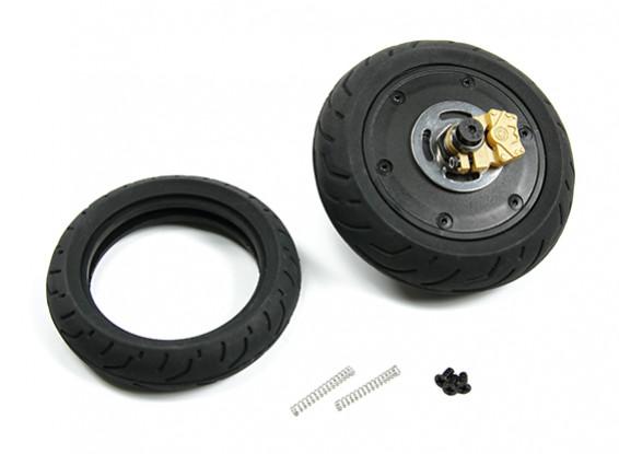 BSR 1000R запасной части - Задний блок колеса с гироскопом