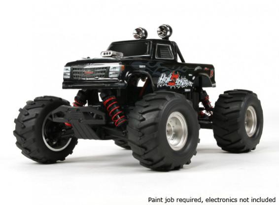 Башер 1/16 4WD Mini Monster Truck V2 - HellSeeker (Kit)