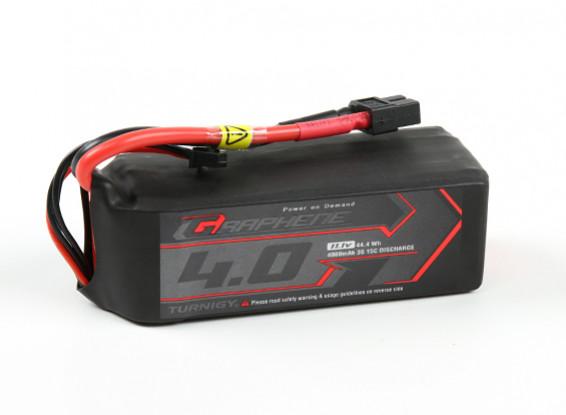 Turnigy Графен Professional 4000mAh 3S 15C LiPo Аккумулятор ж / XT60
