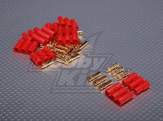 3,5 мм 3-х проводной Пули-разъем для подключения двигателя (5pairs / мешок)