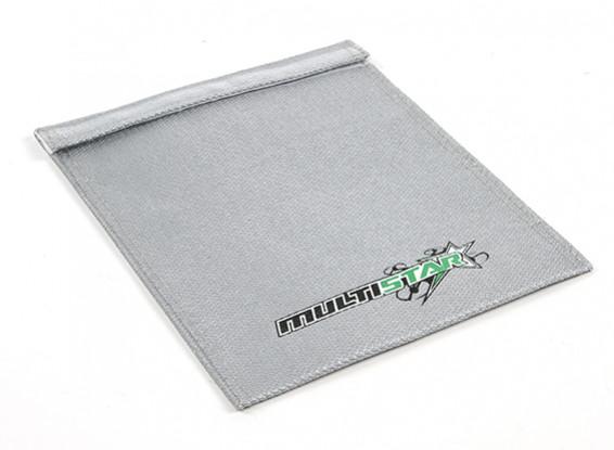 MULTISTAR Огнезамедлительные LiPoly батареи сумка (Flat) (210x165mm) (1шт)