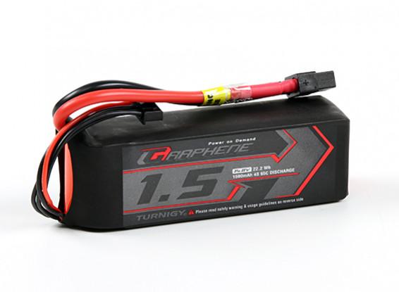 Turnigy Графен 1500mAh 4S 65C LiPo Аккумулятор ж / XT60