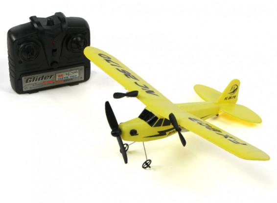 Пайпер J3 Cub Semi-Scale Micro Самолет 320мм в формате RTF