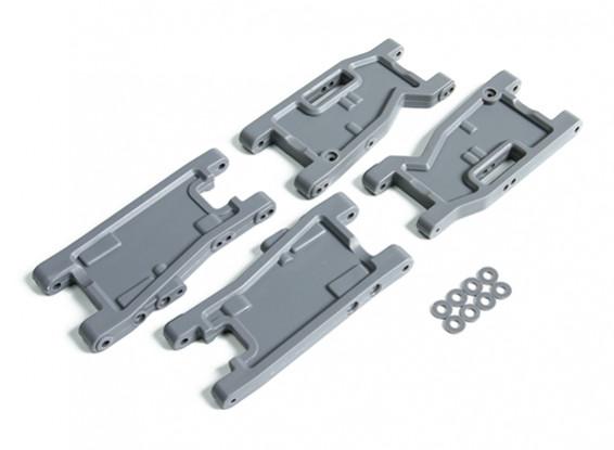 Обновление передний и задний рычаги V2 - BSR Гонки BZ-222 1/10 2WD багги гонки