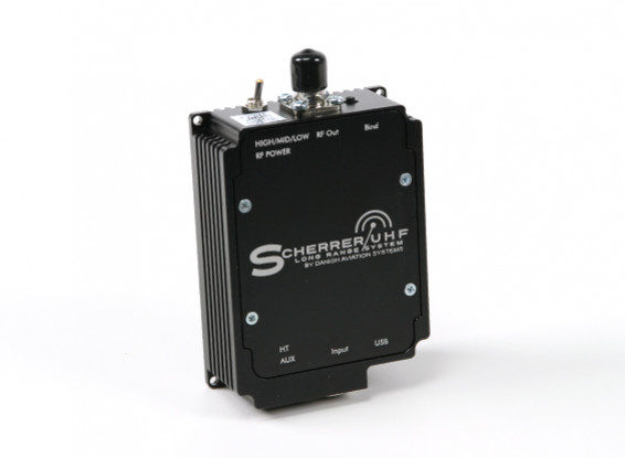 Scherrer Tx700 Pro UHF передатчик Long Range