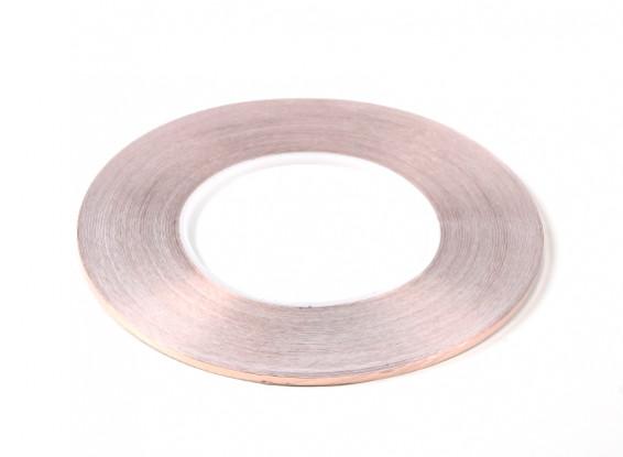 Самоклеящаяся медная лента 0,09 х 3 мм (50 метров)