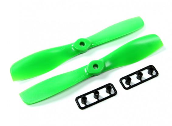 Gemfan 5550-Bullnose одна пара (CW и CCW) Зеленый