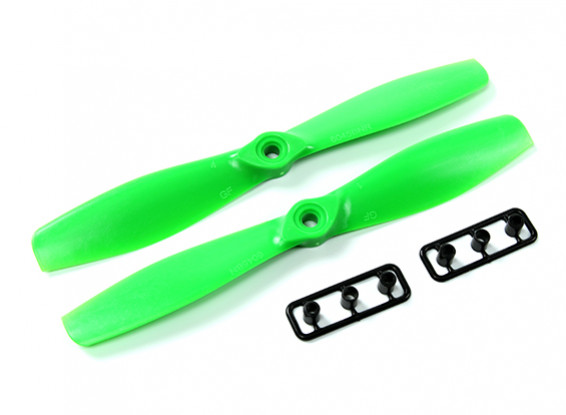 Gemfan 6045-Bullnose одна пара (CW и CCW) Зеленый