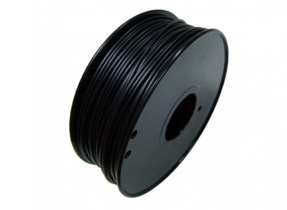 HobbyKing 3D Волокно Принтер 1.75mm электропроводящие ABS 1KG золотника (черный)