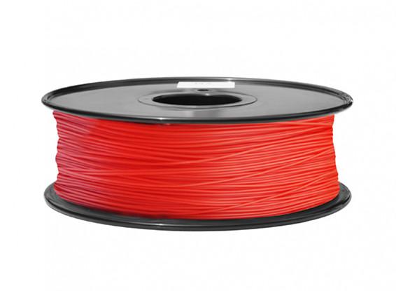 HobbyKing 3D Волокно Принтер 1.75mm ABS 1KG золотника (красный P.186C)