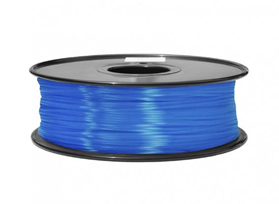 HobbyKing 3D Волокно Принтер 1.75mm ABS 1KG золотника (флуоресцентная синий)