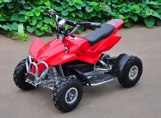 Электрический квадроцикл (ЕС Plug) Красный / Черный