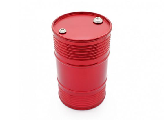 Красный анодированный CNC металла Анодированный топлива Барабан для 1/10 Crawler / грузовик / пикап