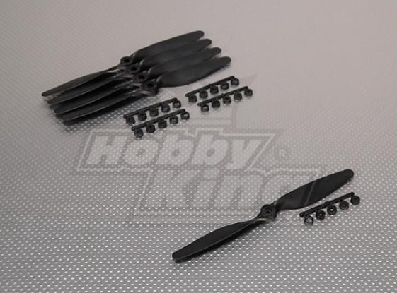 GWS Стиль Slowfly Пропеллер 7x4 черный (КОО) (5шт)