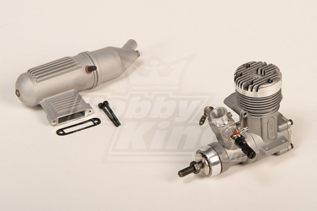 LEO 0,46 Glow двигателя с шумоглушителем