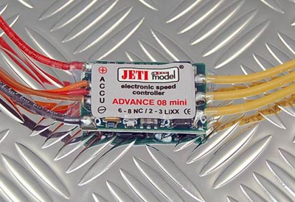 Джети 08 Мини-регулятор скорости 2-3S LiPoly
