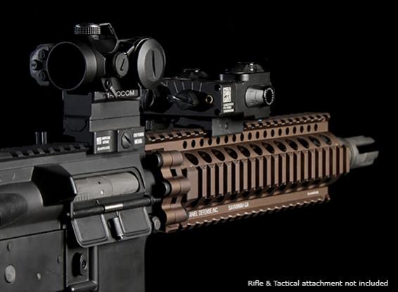 MadBull Daniel Defense 7-дюймовый AR-15 Lite Rail (черный)