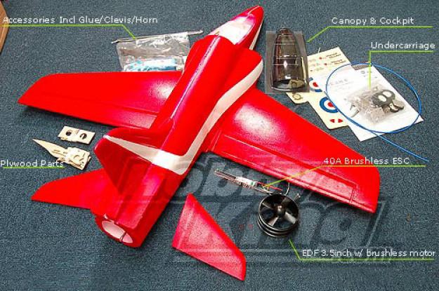 BAE Hawk Полный комплект ж / Motor / EDF / BESC