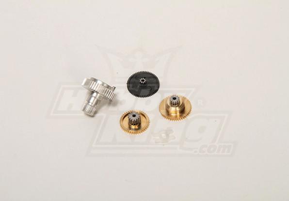 BMS-20617 металлические шестерни для BMS-616MG + HS и BMS-616DMG + HS