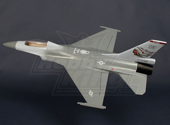70mm EDF истребитель - Стекловолокно 620mm (ARF)