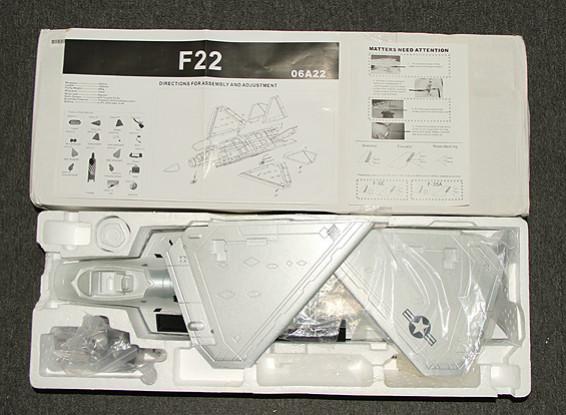СКРЕСТ / СТОМАТОЛОГИЯ F-22 EDF Jet 70мм EPO (АРФ)
