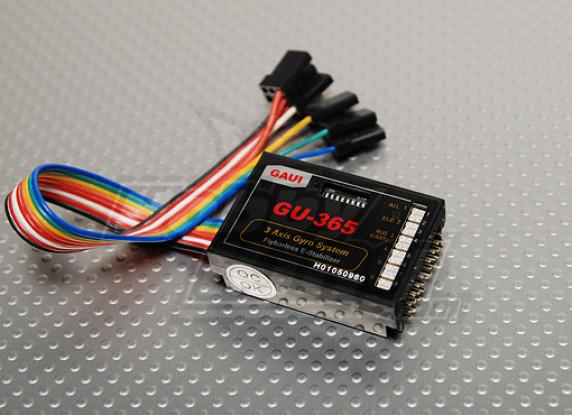 GAUI Flybarless E-стабилизатором FES (GUEC GU-365)