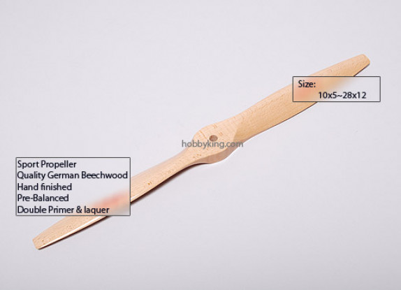 XR Тип B Beechwood 3D / SF Propeller 10x5