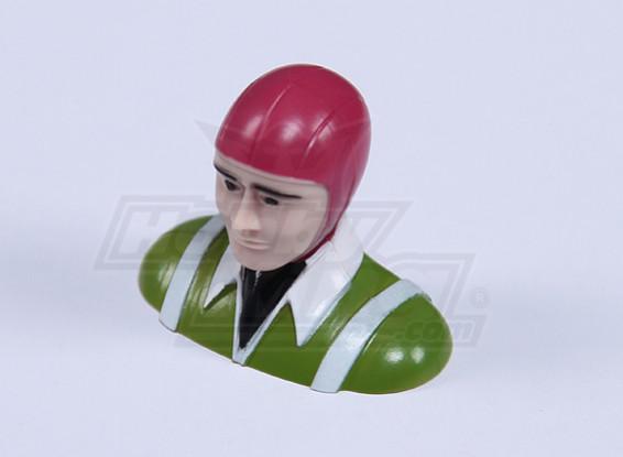 Ultra Light Parkfly Pilot (зеленый) (H30 х W37 х D18mm)